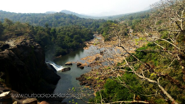 Athirapally falls our backpack tales