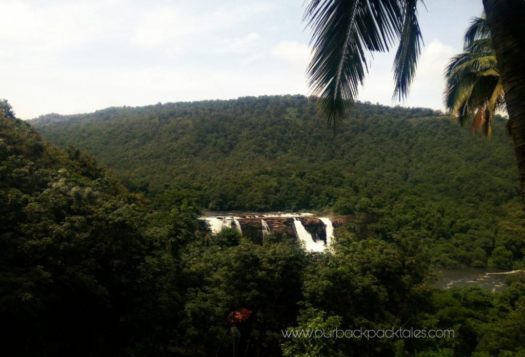 Athirapally waterfalls 1 our backpack tales