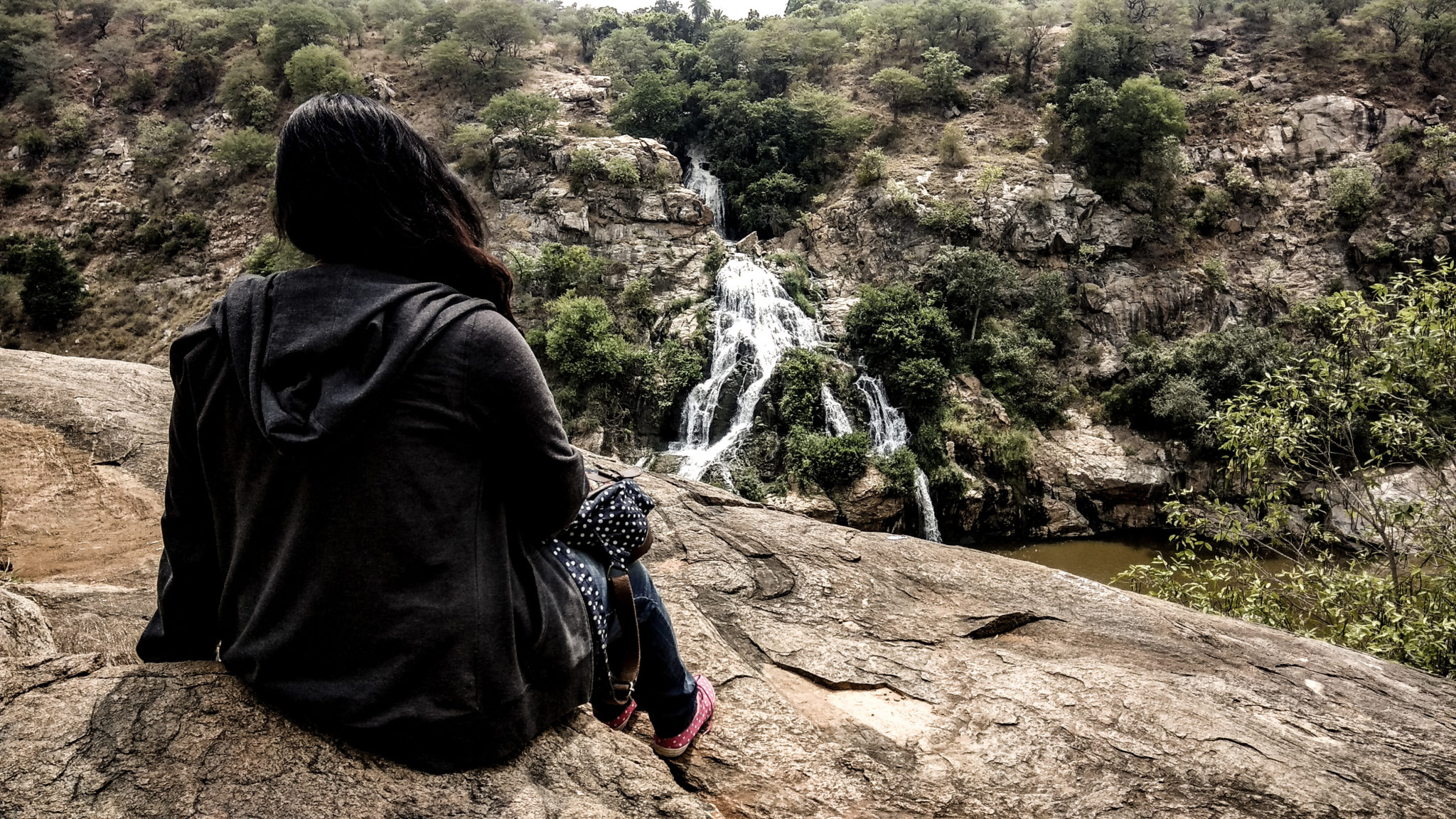 Chunchi falls place to visit near Bangalore