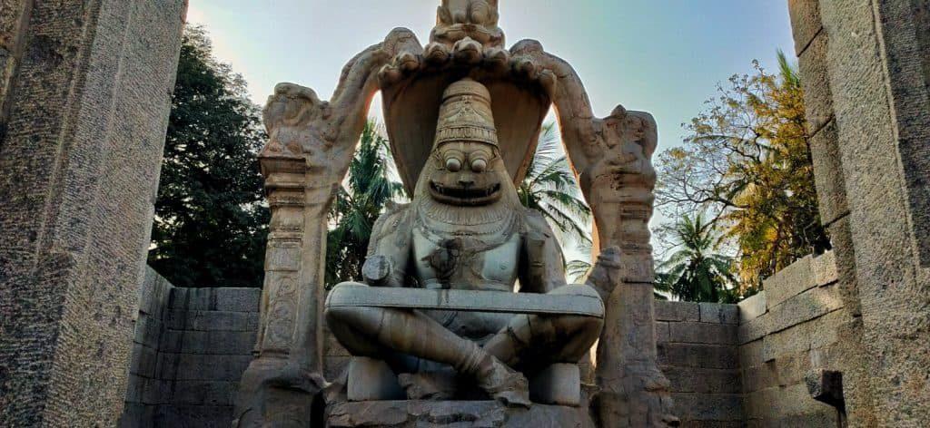 lakshmi-narasimha-statue-hampi-ourbackpacktales