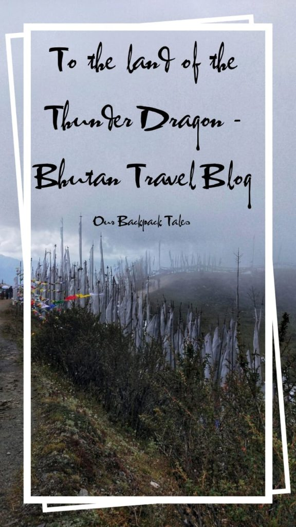 Pinterest Bhutan travel blog pin