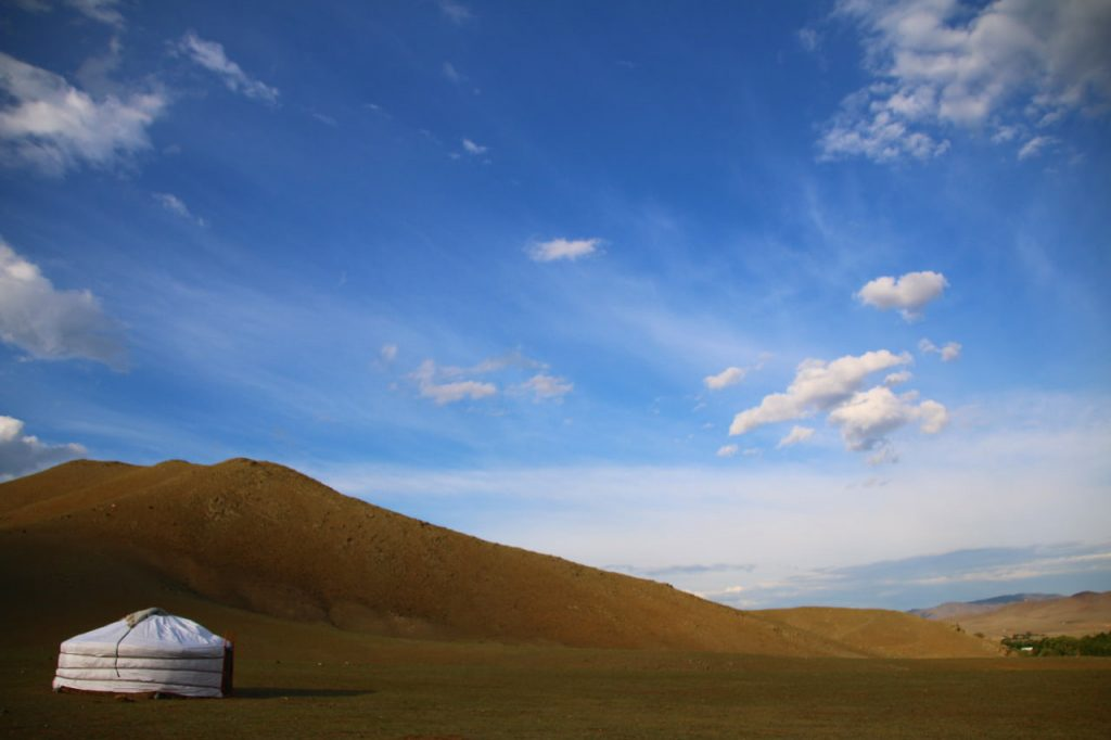 Mongolian Ger exotic airbnb experience