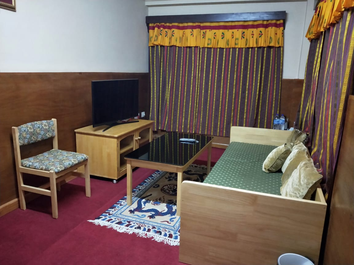 Living Room in Pamtsho Hotel