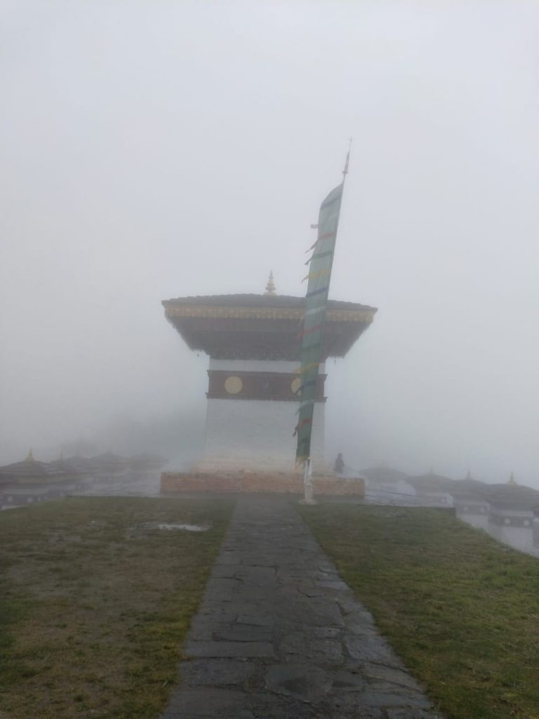 Main Stupa at Dochula Pass