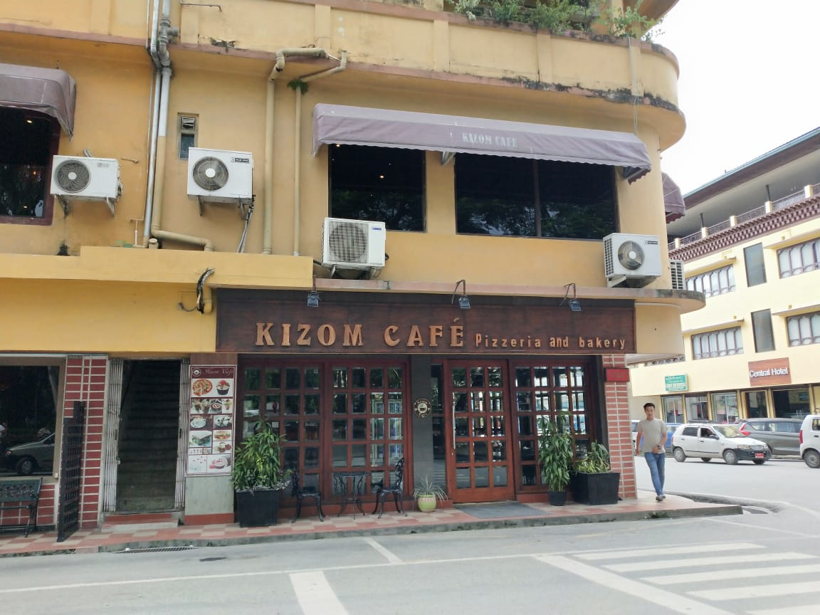 Kizom Cafe in Pheuntsholing