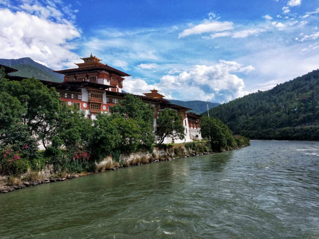 Punakha dzong bhutan travel blog