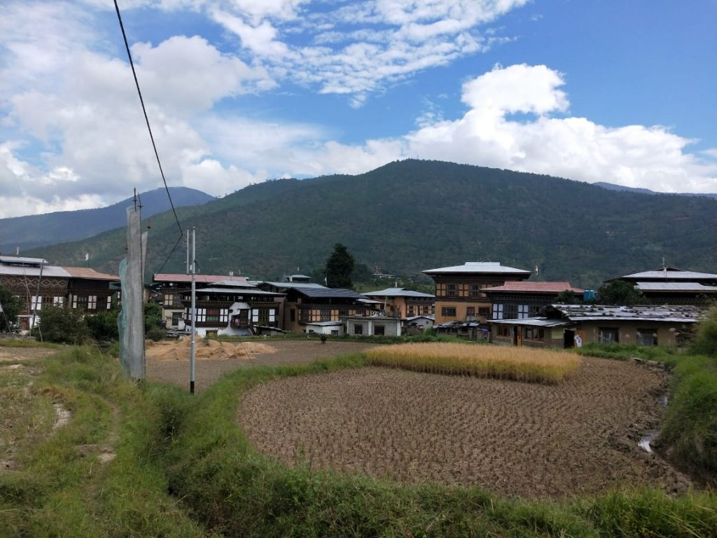 Theoprongchu village Chimi Lakhang