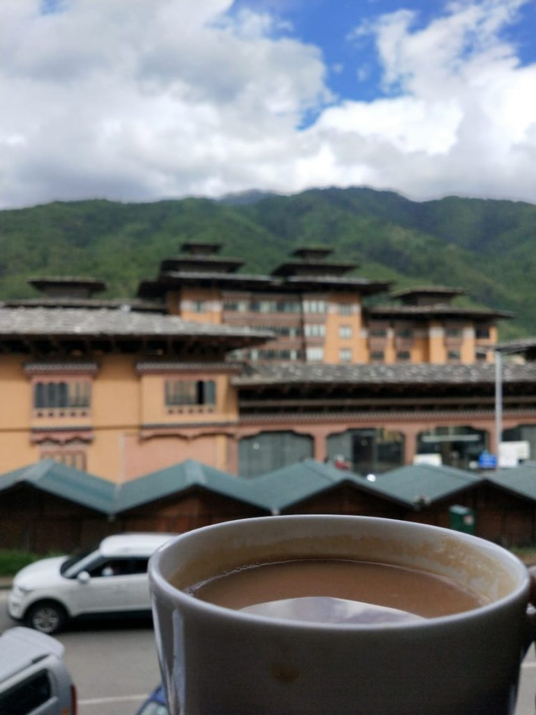 Tea and Indian embassy Bhutan