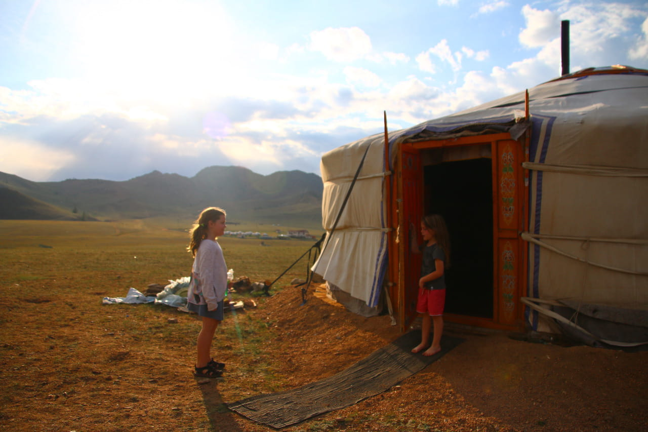 Stay in ger mongolia