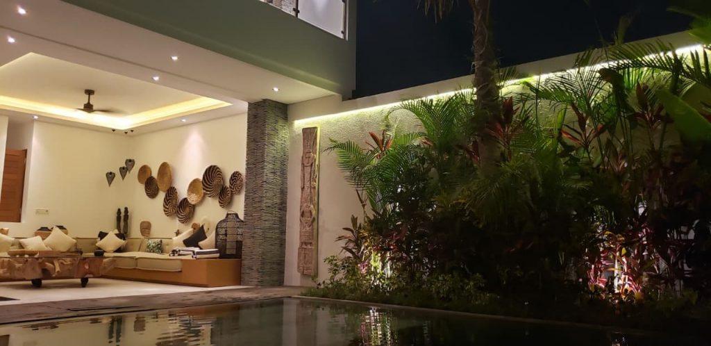 Airbnb villa in Bali