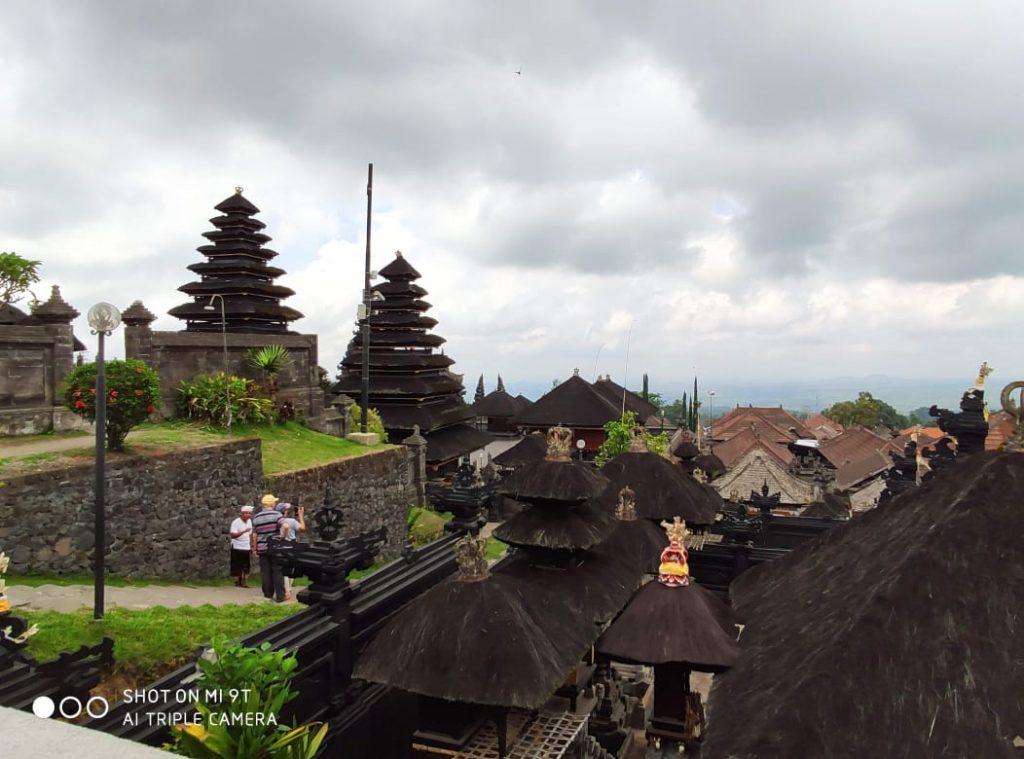 Besakih temple in Bali travel blog