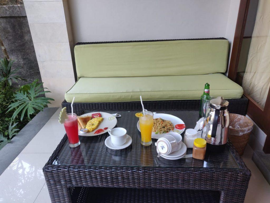 Breakfast at lili house ubud