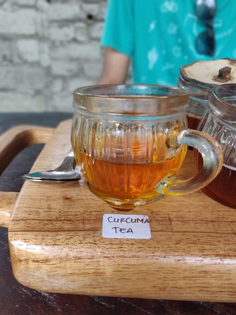 Curcuma Tea in Bali