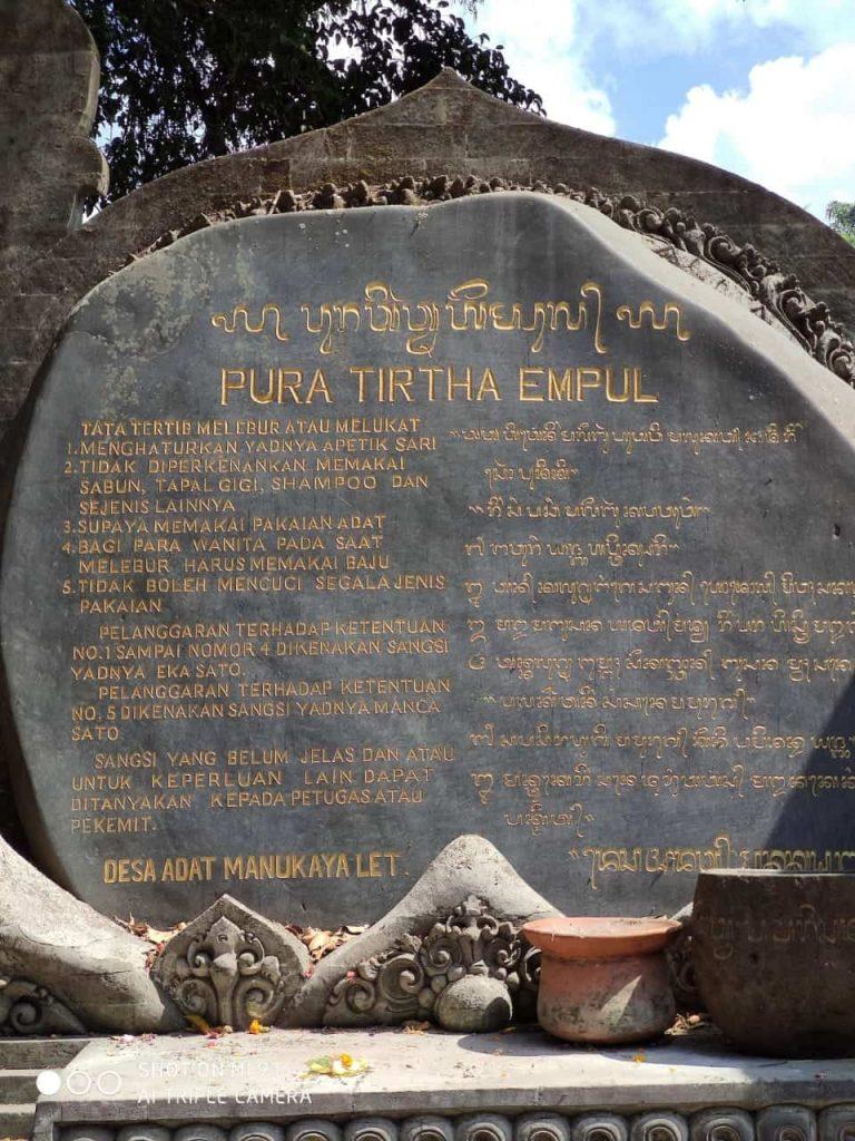 Pura tirta empul ubud bali travel blog