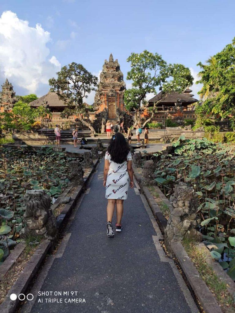 Taman Saraswathi temple in Ubud Bali travel blog