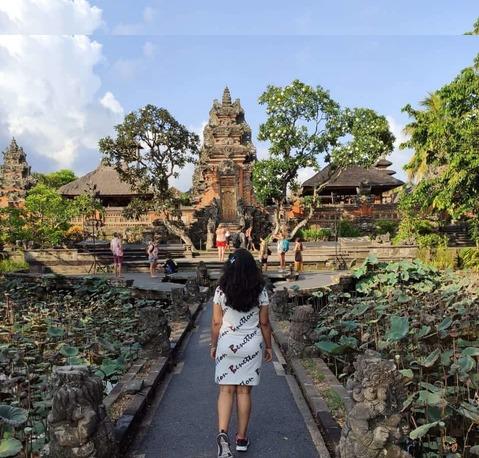 Saraswati temple in Bali