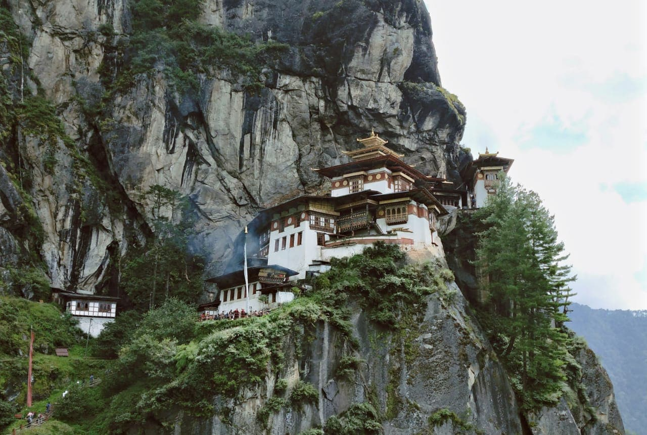 Hike to Tigers nest monastery in Bhutan