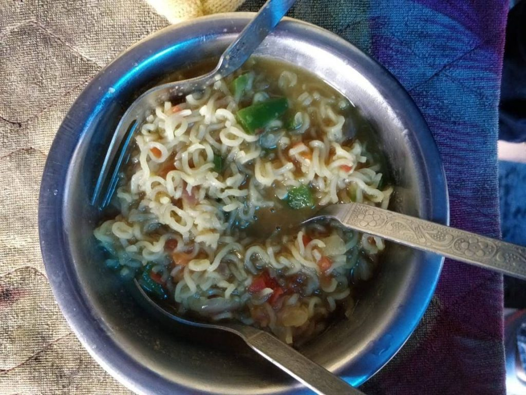 Maggi at Rock Cafe