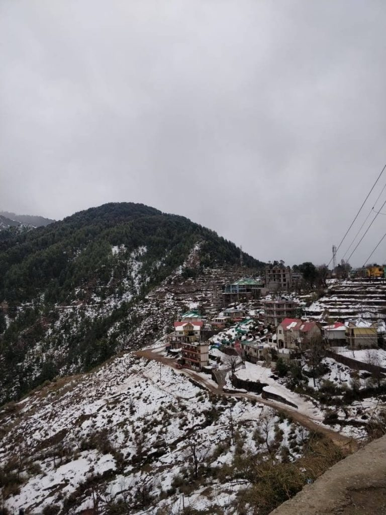 Naddi Village at Mcleodganj from delhi