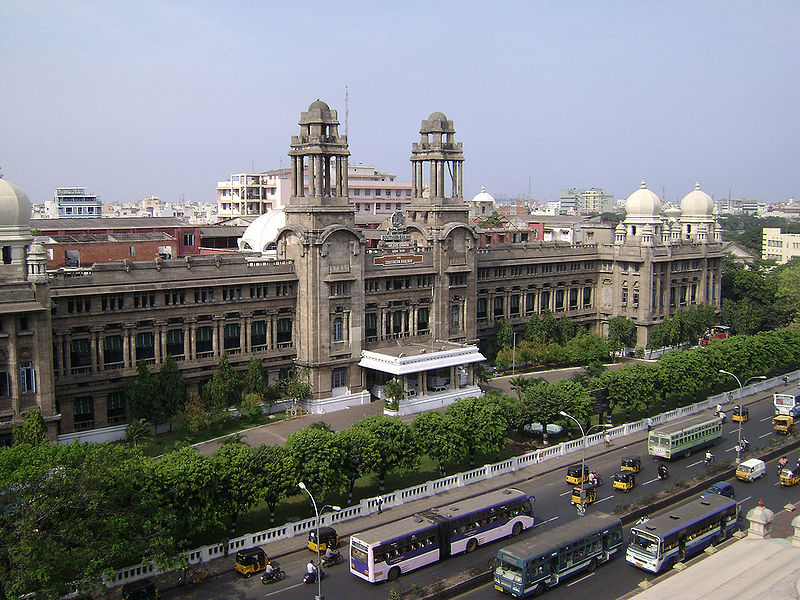 Chennai Southern Railway head quarters