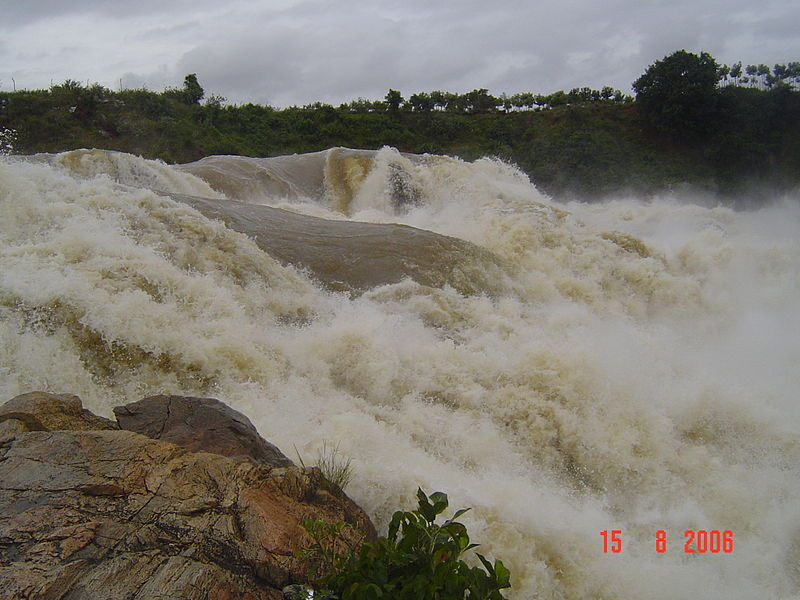 Chunchanakatte falls in Mysore