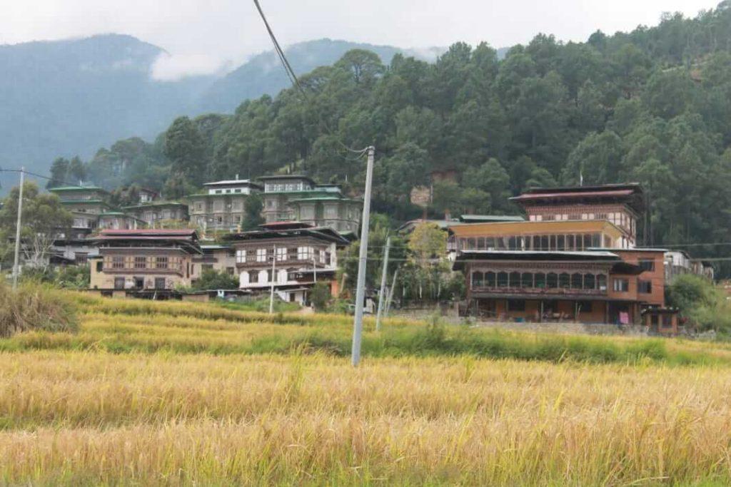 Village side of Teoprongchu