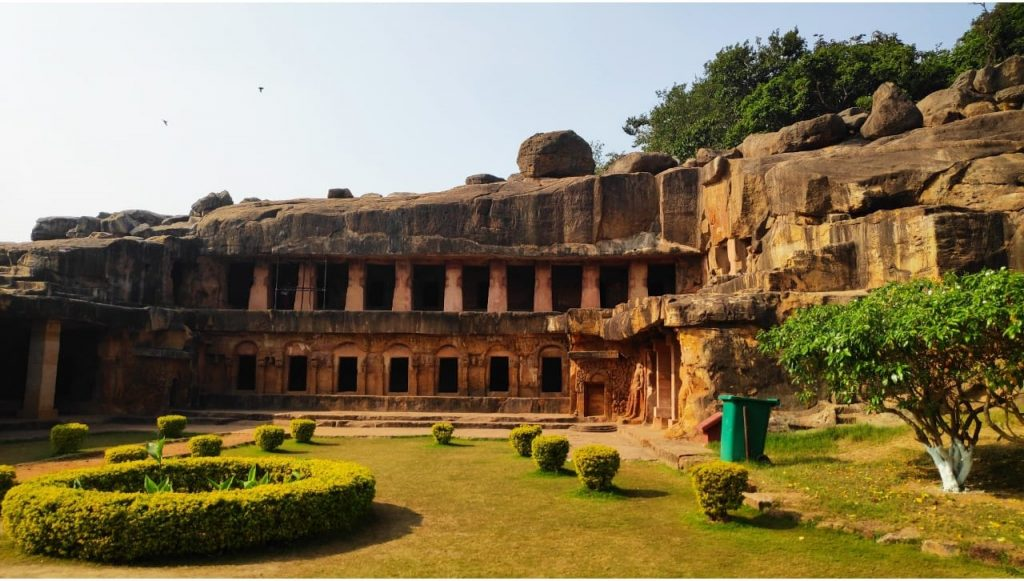Udaygiri and Khandagiri caves in Odisha