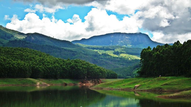 Echo point in things to do in Munnar