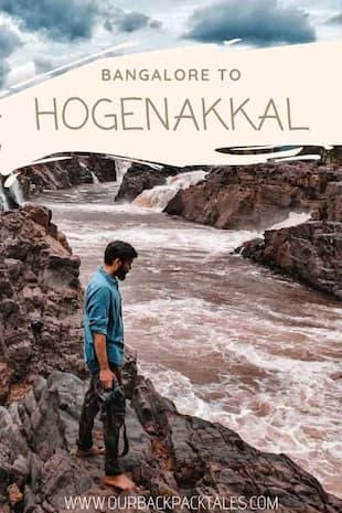 Bangalore to Hogenakkal falls Pinterest pin