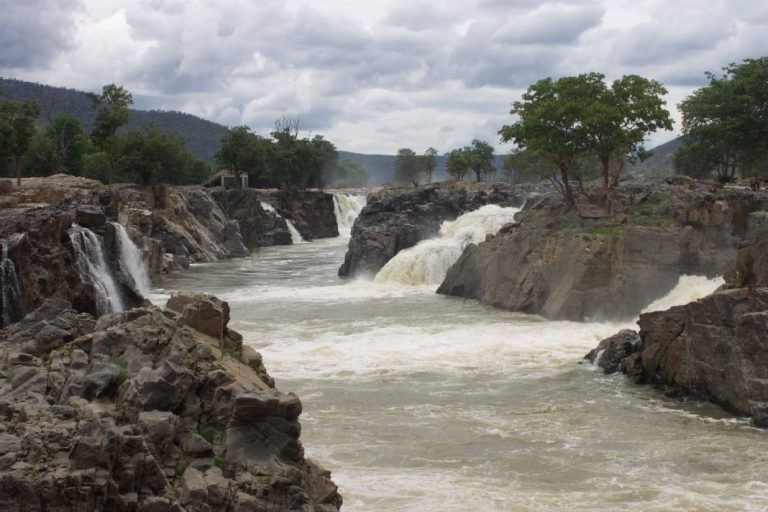 Hogenakkal Falls view on our trip from banglaore