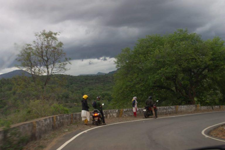 Hogenakkal Falls To Bangalore road view point