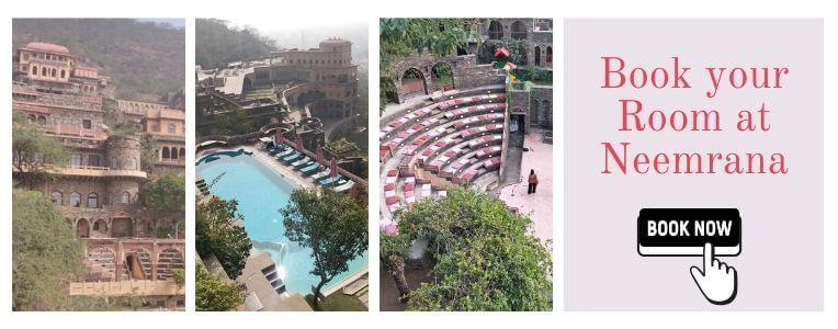 Neemrana fort booking