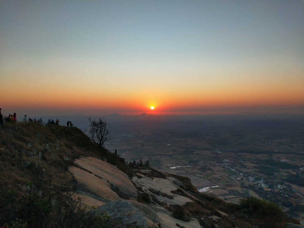 Skandagiri Hill Sunrise
