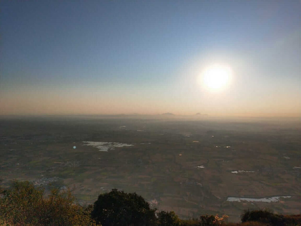 View after sunrise