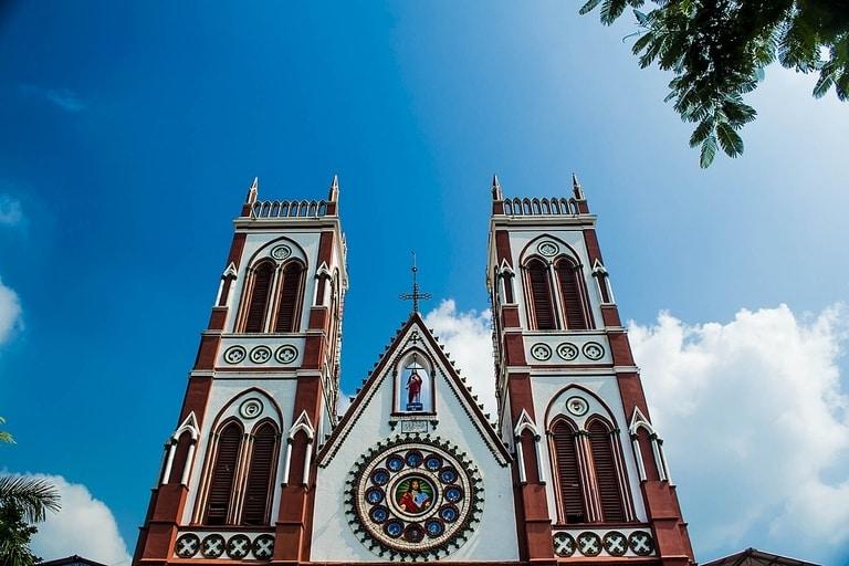 Basilica of sacred hearts pondicherry