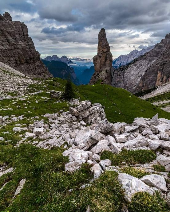 Campanile della Val Montanaia hiking trail