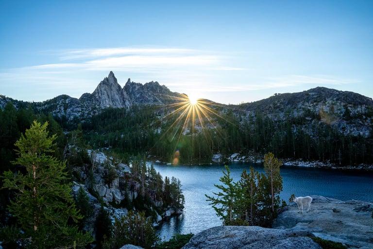 Hiking Enchantments in Washington State USA