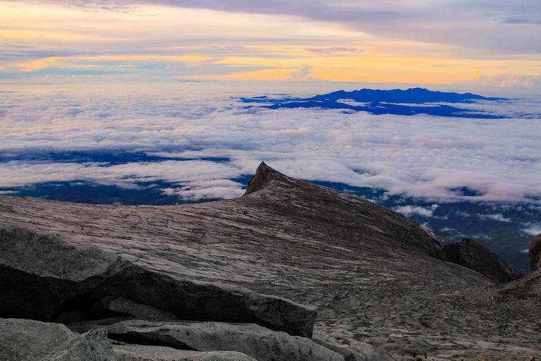 Mount Kinabalu hiking trail in Malaysia