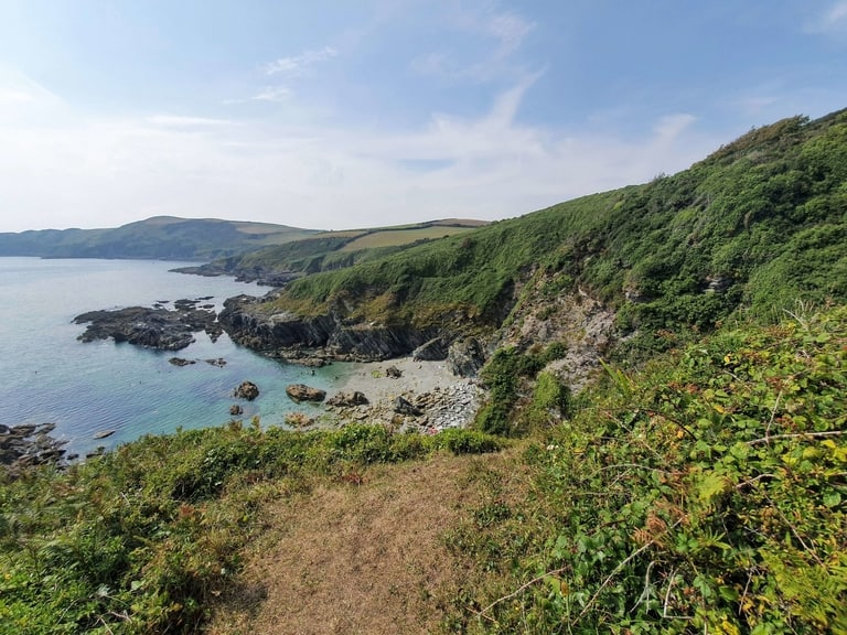 South West Coast hiking Path in England best hiking trail in Europe