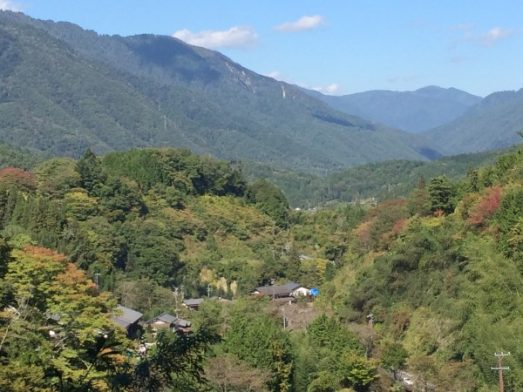 The Nakasendo hiking Trail in Japan
