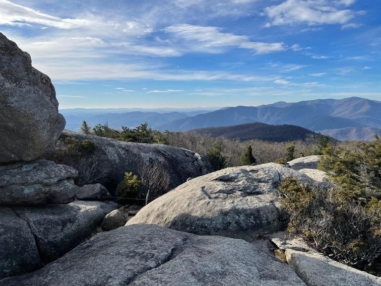 Old Rag hiking Trail in Virginia