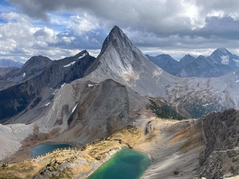Hiking Smutwood Peak trail in Alberta on Best hiking trails in North America