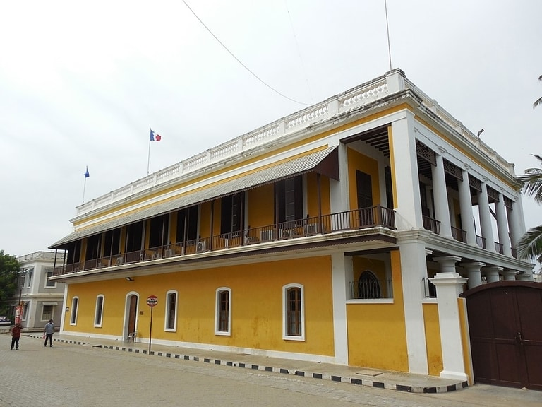 White town is one place to visit in Pondicherry from bangalore