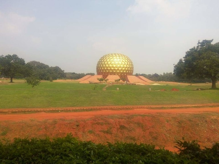 Auroville in Pondicherry from bangalore