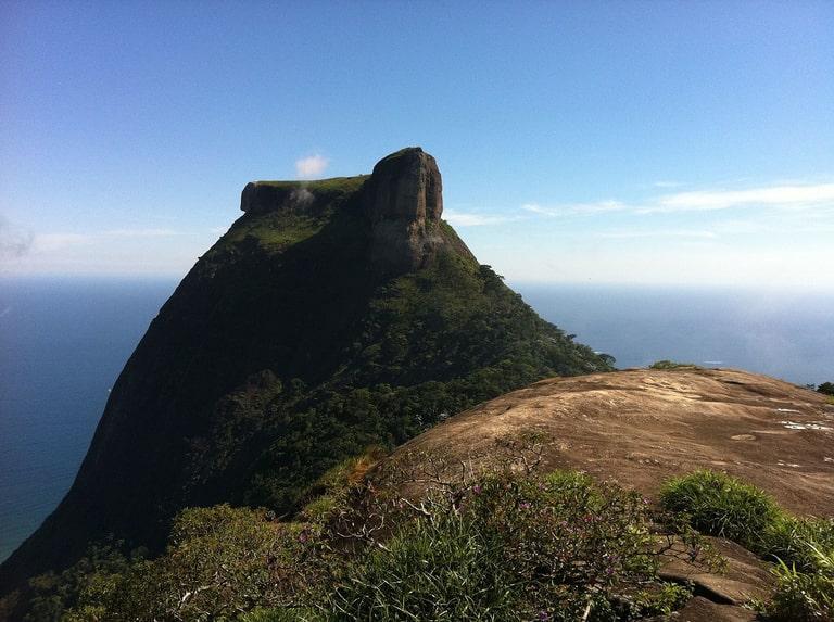 Pedra da Gávea hiking trail in Rio de Janeiro best hiking trails in South America