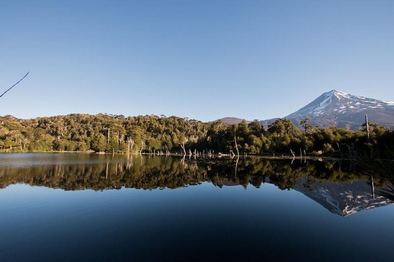 Sierra Nevada hiking Trail in Chile best hiking trail in south america
