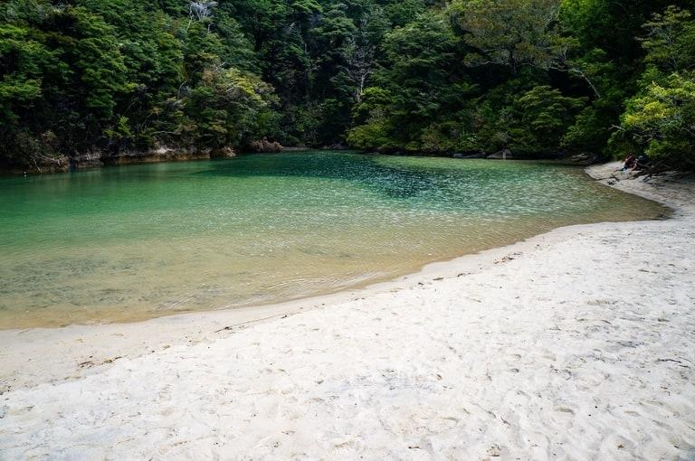 Abel Tasman Coastal Track in New Zealand best hiking trails in Oceania