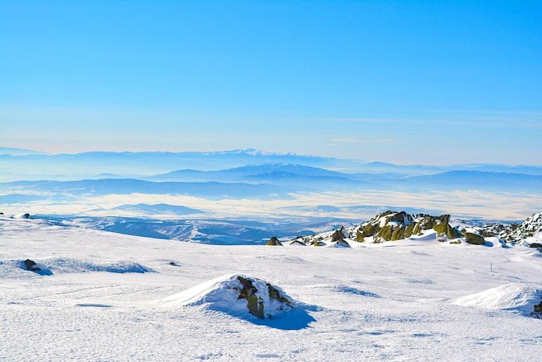Black Peak hiking trail in Bulgaria