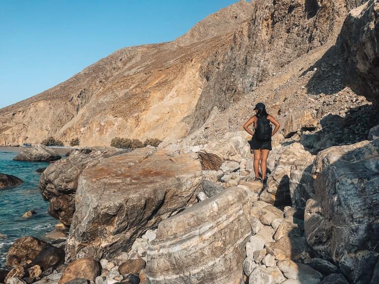 E4 Trail in Crete Greece hiking trails in greece