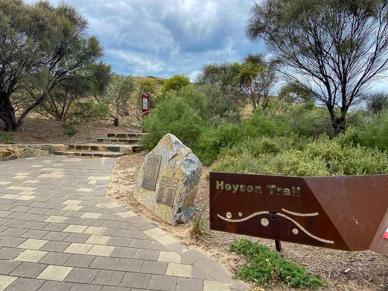 Heysen hiking Trail in South Australia